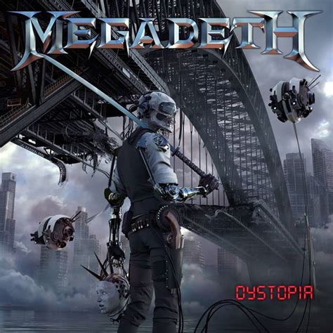 """MEGADETH: Reveal Artwork And Track List For """"Dystopia"""