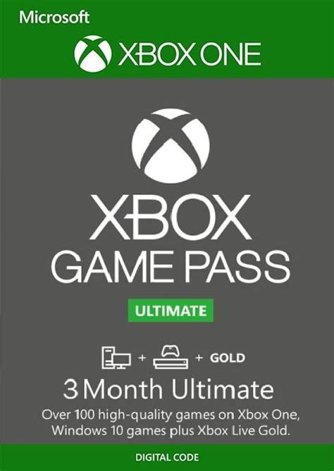 3 Month Xbox Game Pass Ultimate Trial   Xbox One/PC   CDKeys