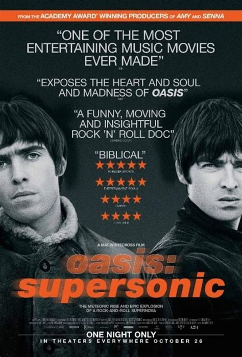 Oasis: Supersonic – Bande annonce du documentaire – Zickma