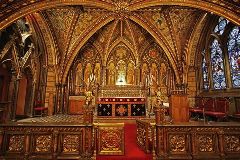 Sanctuary of St Mary Undercroft   Sumptuously decorated by