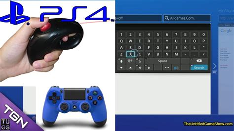 How to turn on PS4 Gyro keyboard - PS4 Menu Interface Tips