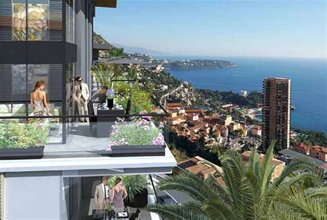 Beausoleil double penthouse with 7 bedrooms and super
