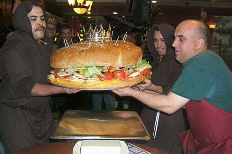Record du monde! Le plus gros hamburger!!!