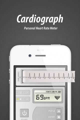 Measure your heart rate with Cardiograph for iPhone, iPad