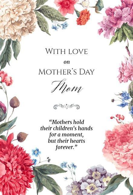 Garden Glory - Mother's Day Card (Free) | Greetings Island
