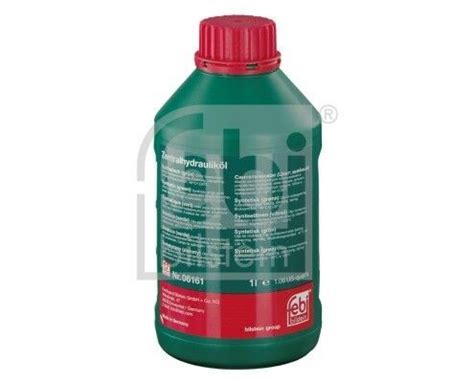 Green Synthetic Power Steering Fluid for BMW 83290429576