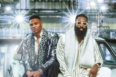 Russell Westbrook and James Harden Are GQ's Latest Cover