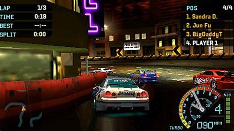 Need for Speed Underground Rivals PSP ISO Download