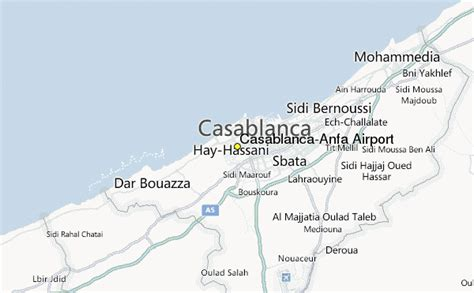 Casablanca/Anfa Airport Weather Station Record