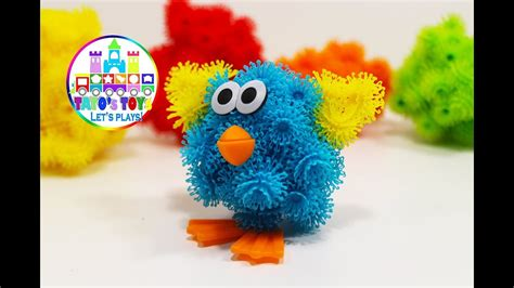 How to make a Bird with BUNCHEMS for Kids - YouTube