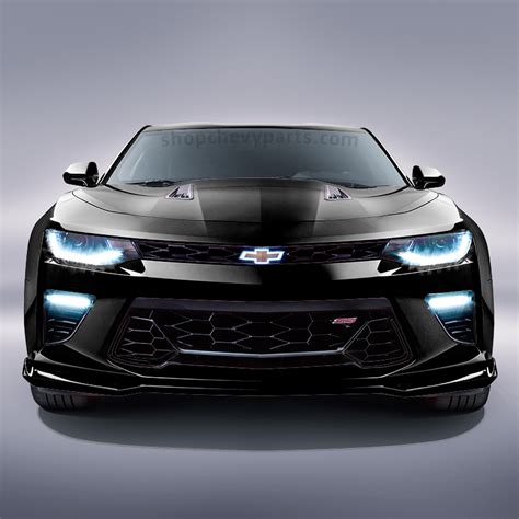2016 Camaro SS Front Grille, Black   84040596