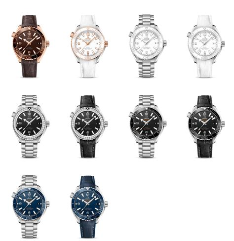 UPDATE: Full 2016 Omega Planet Ocean collection including