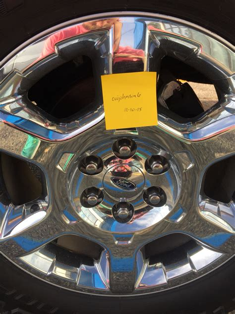 """South Central 2014 lariat chrome clad 20"""" rims - Ford F150"""