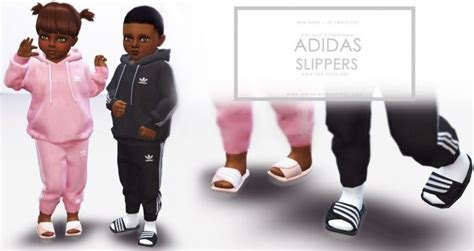 Slippers for Toddlers at Onyx Sims • Sims 4 Updates | Sims