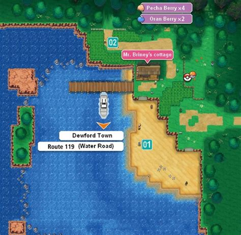 Pokémon Omega Ruby and Alpha Sapphire/Route 104 (South