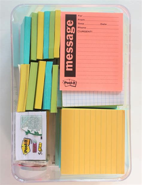 Eco Modern Concierge: How to Organize Post-It Notes
