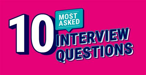Top 10 most-asked interview questions (and how to answer