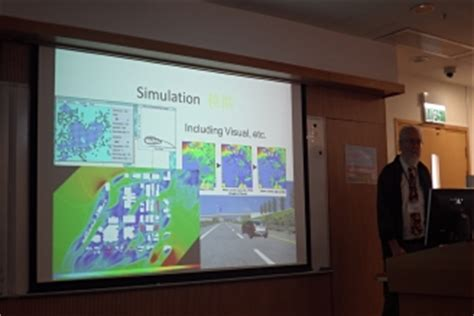 Professor Ervin presented Geodesign from a system perspective