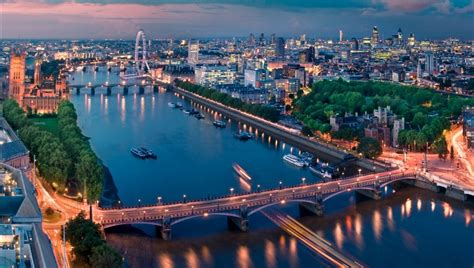 11 Best Views of London   Skyline, For Free, At Night