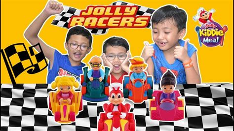 2018 Jolly Racers - Jolly Kiddie Meal Toys Complete Set of