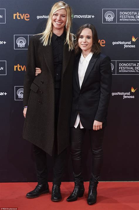 Ellen Page spotted out with new wife Emma Portner | Daily
