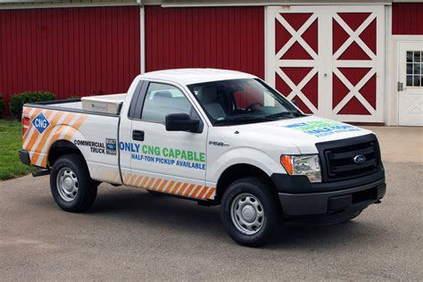 2014 Ford F-150 Natural-Gas Readiness Package For Half-Ton