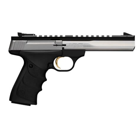 PISTOLET BUCK MARK CONTOUR STAINLESS URX BROWNING