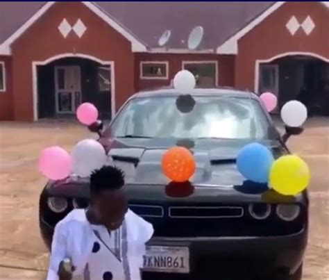 Shatta Bandle Flaunts New Car He Bought For His Bodyguard