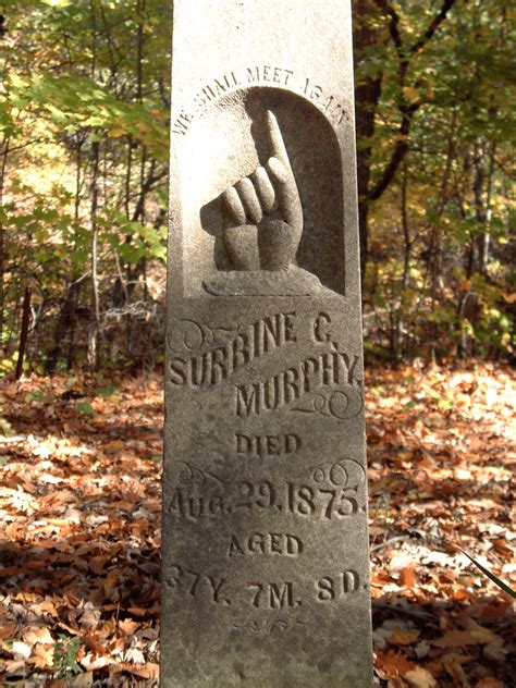 Cemetery Symbolism: Clasped Hands and Pointing Fingers