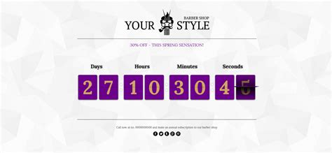 Chronos CountDown - Responsive Flip Timer With Image or