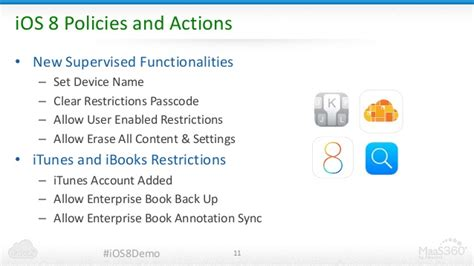 See iOS 8 and IBM MaaS360 in Action