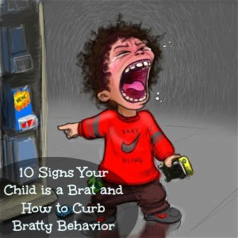 10 Signs Your Child is a Brat - Mocha Dad