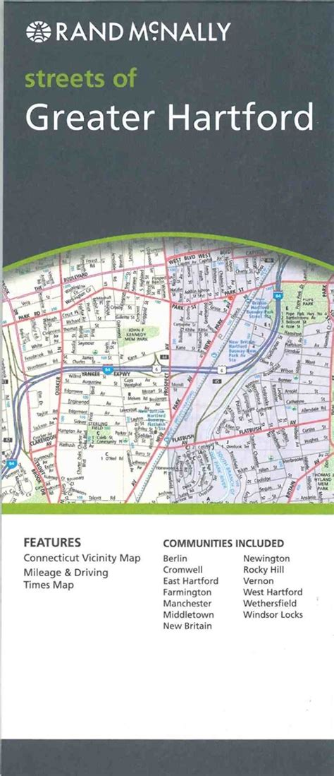 TheMapStore | Greater Hartford, Connecticut street map
