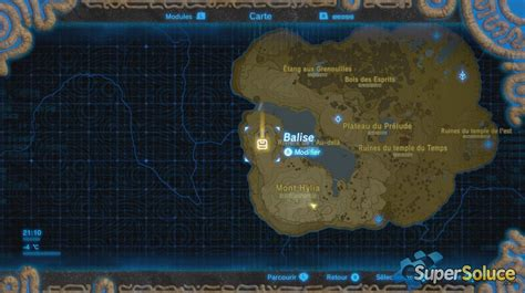 Le plateau isolé - Soluce The Legend of Zelda : Breath of