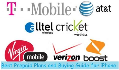 Find Best iPhone Cheap Prepaid Plans for Mobile Carriers