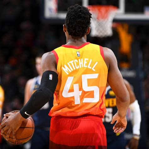 Donovan Mitchell Drops 24 Points as Jazz Fend off Nuggets