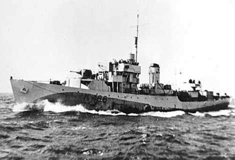 HMCS FOREST HILL | Ships of the Royal Canadian Navy
