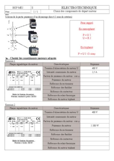 Exercice Corrige Moteur Synchrone Triphase