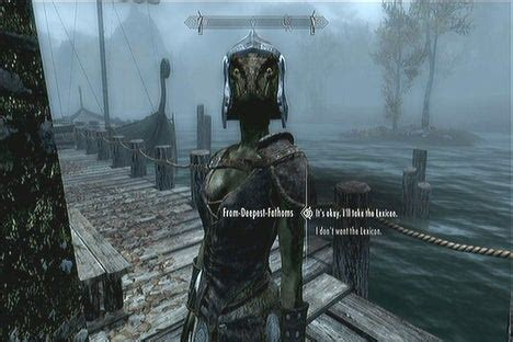 From-Deepest-Fathoms - The Elder Scrolls V: Skyrim Wiki