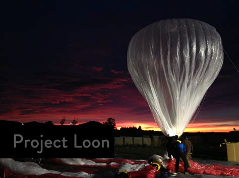 Google Loon project to lease internet balloons to wireless