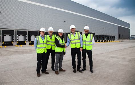 New Distribution Warehouse completed for XPO Logisitics - PLP
