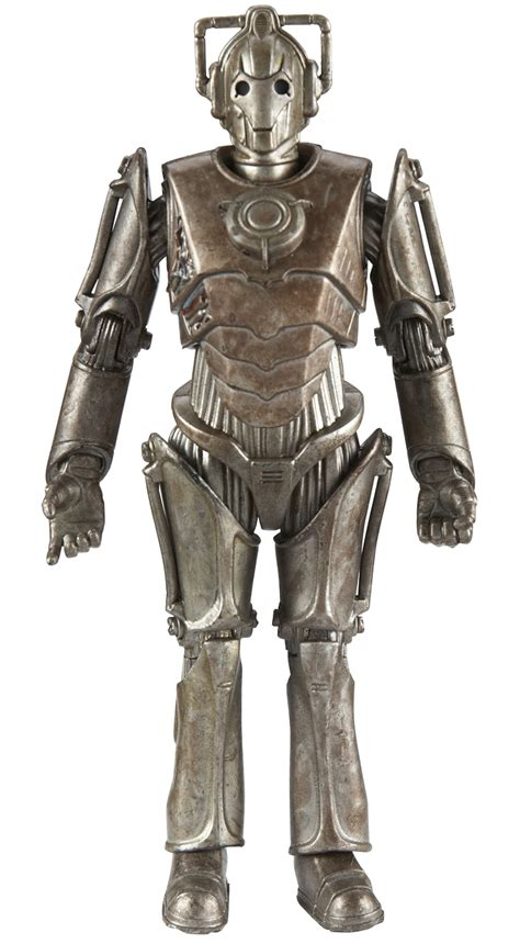 Doctor Who Action Figures - Corroded Cyberman With Face Damage