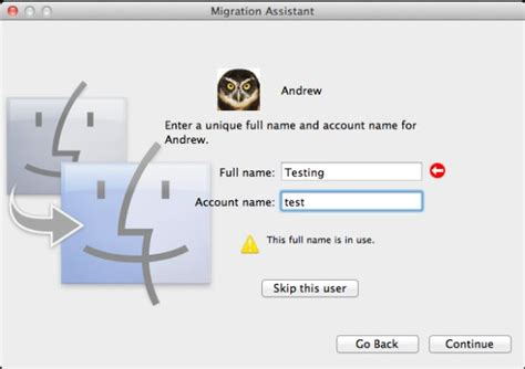 Screen Sharing, Boot Camp, Migration Assistant - Back to