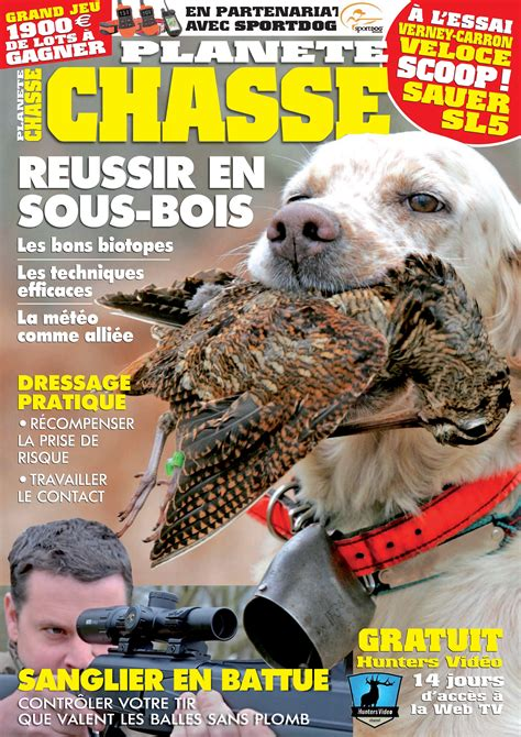 Planète Chasse - Magazines de chasse   Made in Chasse