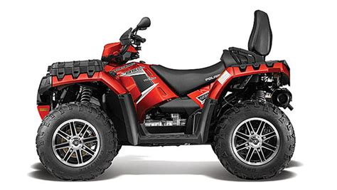 2013 Polaris Sportsman Touring 850 HO EPS Sunset Red LE Review