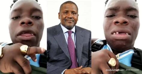 I Am Not Competing With Anybody -dangote Finally Replies