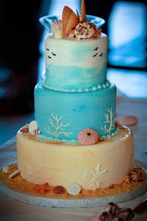 Beach Wedding Cakes - Clearwater, FL- Chantilly Cakes Bakery