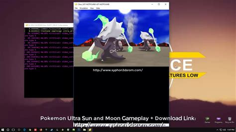 Download Pokémon Ultra Sun and Ultra Moon 3DS Rom Game CIA