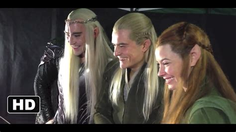 The Hobbit The Desolation of Smaug - Happy Elves (2013