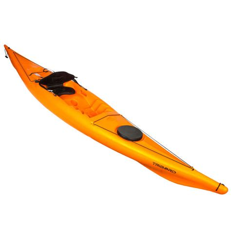 TRIBORD-KAYAK RIGIDE RK500-1 PLACE RANDONNÉE ORANGE